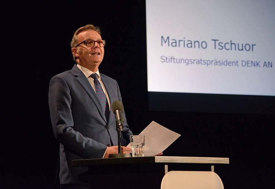 Stiftungsratspräsident Mariano Tschuor.