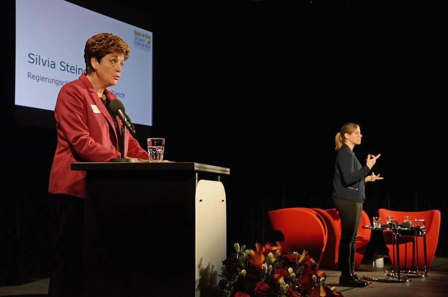 Silvia Steiner, Regierungsrätin Kanton Zürich.