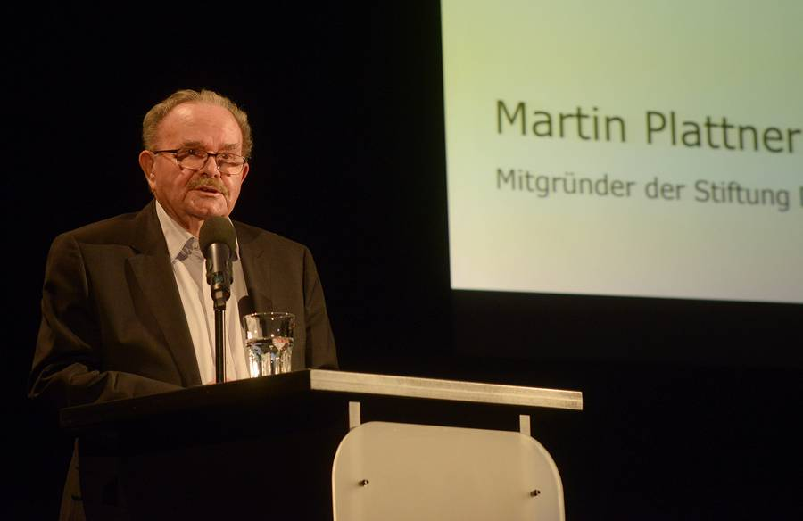 Martin Plattner, Gründer der Stiftung DENK AN MICH.