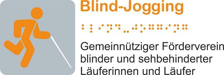 Logo des Fördervereins Blindjogging.