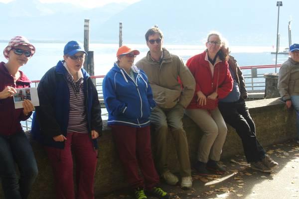 Die Wohngruppe Sunnehöck am Schiffssteg in Locarno.